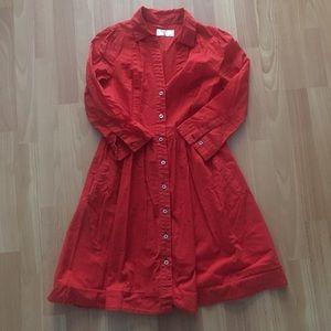 Anthropologie Reed Dress